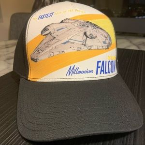 Star Wars Millennium Falcon Trucker Flex Cap